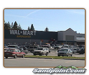 Wal Mart Supercenter in Ponderay, Idaho
