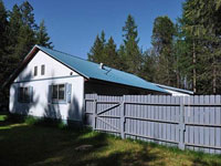 Nice home in Bonners Ferry, Idaho 2.2 acres and a large attached 2 car garage