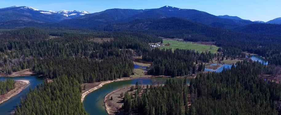 The property consists of 3 separate parcels totaling 267 acres of an Anglers, Hunters and any Ranchers paradise