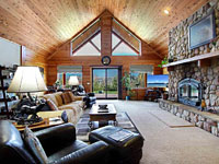 Log Home in Meadows at Fall Creek Gated Community