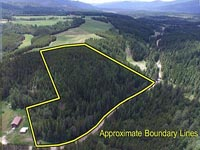 Located just a few miles South of Bonners Ferry Idaho this 22 acre property offers both flat ground and hillside property to place a building pad for great views.
