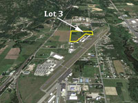 Commercial Lot 3 available on the Sandpoint Airport