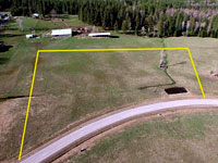 Lot 2 would make an excellent horse property as it is very level with very easy access off the main road, and would get a lot of southern sun exposure in the winter time.