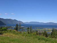 It would be hard to find a more panoramic view of Lake Pend Oreille and the beautiful Green Monarch Mountains than this premier lot.